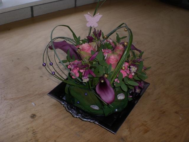 De Bloemendeel_taart op schaal
